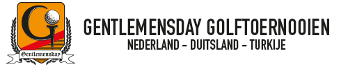 Gentlemensday Golftoernooien Logo